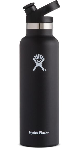 Hydro Flask Standard Mouth Sport Bottle 21oz (621ml) Black